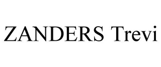mark for ZANDERS TREVI, trademark #78842180
