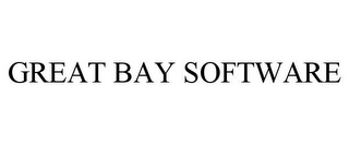 mark for GREAT BAY SOFTWARE, trademark #78842356
