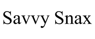 mark for SAVVY SNAX, trademark #78842651