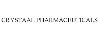 mark for CRYSTAAL PHARMACEUTICALS, trademark #78843319