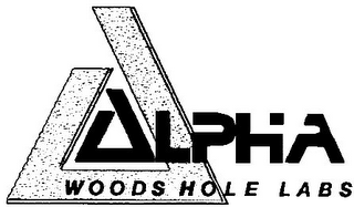 mark for A ALPHA WOODS HOLE LABS, trademark #78843381
