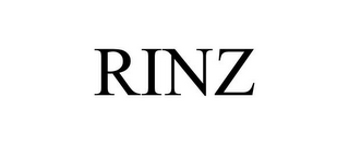 mark for RINZ, trademark #78843571