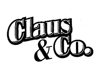 mark for CLAUS & CO., trademark #78843996