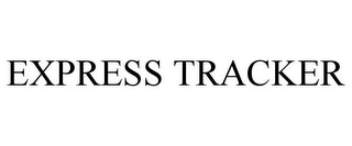 mark for EXPRESS TRACKER, trademark #78844638