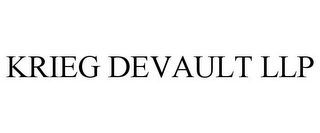 mark for KRIEG DEVAULT LLP, trademark #78845149