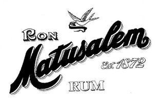 mark for RON MATUSALEM RUM EST. 1872, trademark #78845684