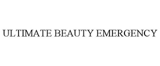 mark for ULTIMATE BEAUTY EMERGENCY, trademark #78845925