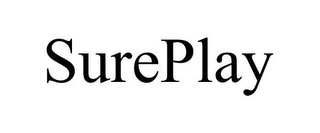 mark for SUREPLAY, trademark #78846013