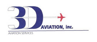 mark for 3D AVIATION, INC. AVIATION SERVICES, trademark #78846561
