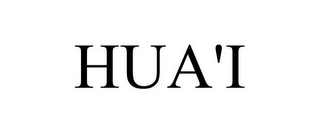mark for HUA'I, trademark #78846969