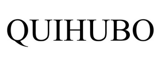 mark for QUIHUBO, trademark #78847490