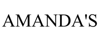 mark for AMANDA'S, trademark #78848197
