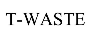 mark for T-WASTE, trademark #78849835