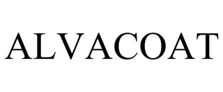 mark for ALVACOAT, trademark #78849987
