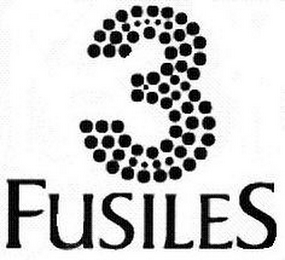 mark for 3 FUSILES, trademark #78850518