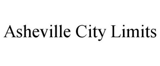 mark for ASHEVILLE CITY LIMITS, trademark #78851982