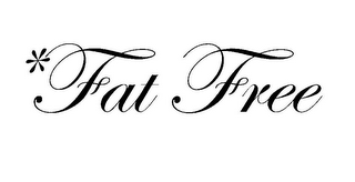 mark for *FAT FREE, trademark #78851983