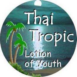 mark for THAI TROPIC LOTION OF YOUTH, trademark #78852077