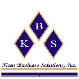 mark for KBS KEEN BUSINESS SOLUTIONS, INC., trademark #78852337