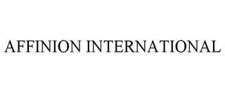 mark for AFFINION INTERNATIONAL, trademark #78852696
