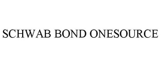 mark for SCHWAB BOND ONESOURCE, trademark #78852829