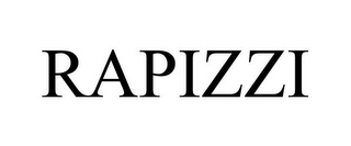 mark for RAPIZZI, trademark #78855507