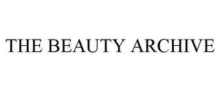 mark for THE BEAUTY ARCHIVE, trademark #78855870