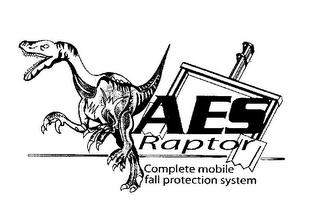 mark for AES RAPTOR COMPLETE MOBILE FALL PROTECTION SYSTEM, trademark #78856058