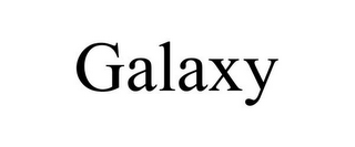 mark for GALAXY, trademark #78856116