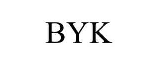mark for BYK, trademark #78856315