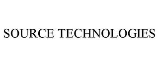 mark for SOURCE TECHNOLOGIES, trademark #78856594