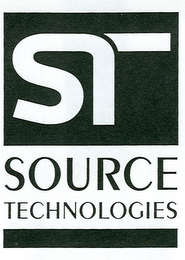 mark for ST SOURCE TECHNOLOGIES, trademark #78856620