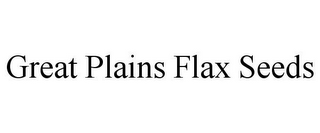 mark for GREAT PLAINS FLAX SEEDS, trademark #78857901