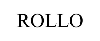 mark for ROLLO, trademark #78857981