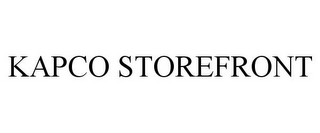 mark for KAPCO STOREFRONT, trademark #78859757