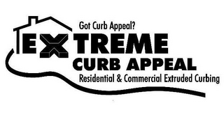 mark for GOT CURB APPEAL? EXTREME CURB APPEAL RESIDENTIAL & COMMERCIAL EXTRUDED CURBING, trademark #78860999