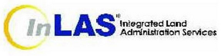 mark for INLAS INTEGRATED LAND ADMINISTRATION SERVICES, trademark #78861469