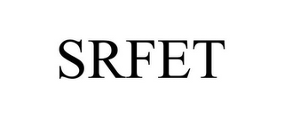mark for SRFET, trademark #78862196