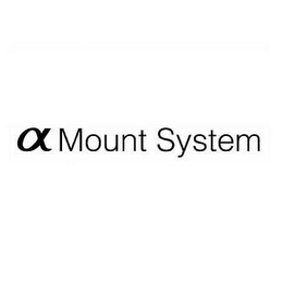 mark for A MOUNT SYSTEM, trademark #78863278