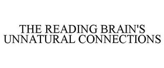 mark for THE READING BRAIN'S UNNATURAL CONNECTIONS, trademark #78864038