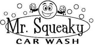 mark for MR. SQUEAKY CAR WASH, trademark #78864098