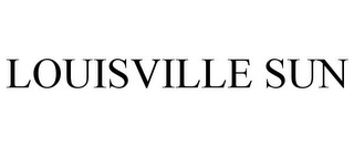 mark for LOUISVILLE SUN, trademark #78864320