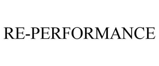 mark for RE-PERFORMANCE, trademark #78864640