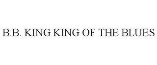 mark for B.B. KING KING OF THE BLUES, trademark #78868276