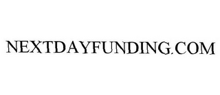 mark for NEXTDAYFUNDING.COM, trademark #78868825