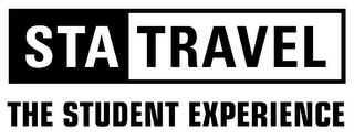 mark for STA TRAVEL THE STUDENT EXPERIENCE, trademark #78869423