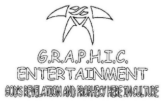 mark for G.R.A.P.H.I.C. ENTERTAINMENT GOD'S REVELATION AND PROPHESY HERE IN CULTURE, trademark #78869578