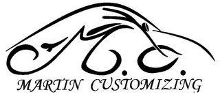 mark for M.C. MARTIN CUSTOMIZING, trademark #78870581