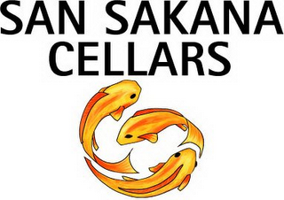 mark for SAN SAKANA CELLARS, trademark #78872587