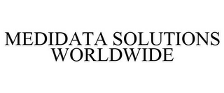 mark for MEDIDATA SOLUTIONS WORLDWIDE, trademark #78873856
